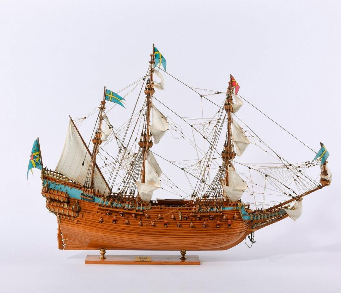 Model three-masted galleon 'Wasa'