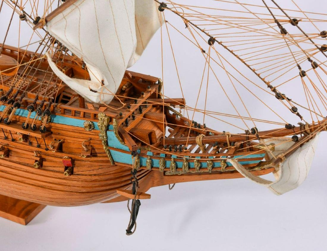 Model three-masted galleon 'Wasa' - 2