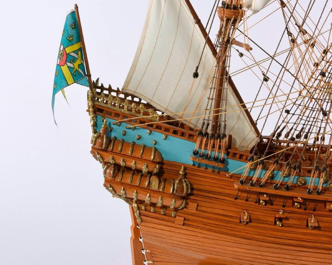 Model three-masted galleon 'Wasa' - 3