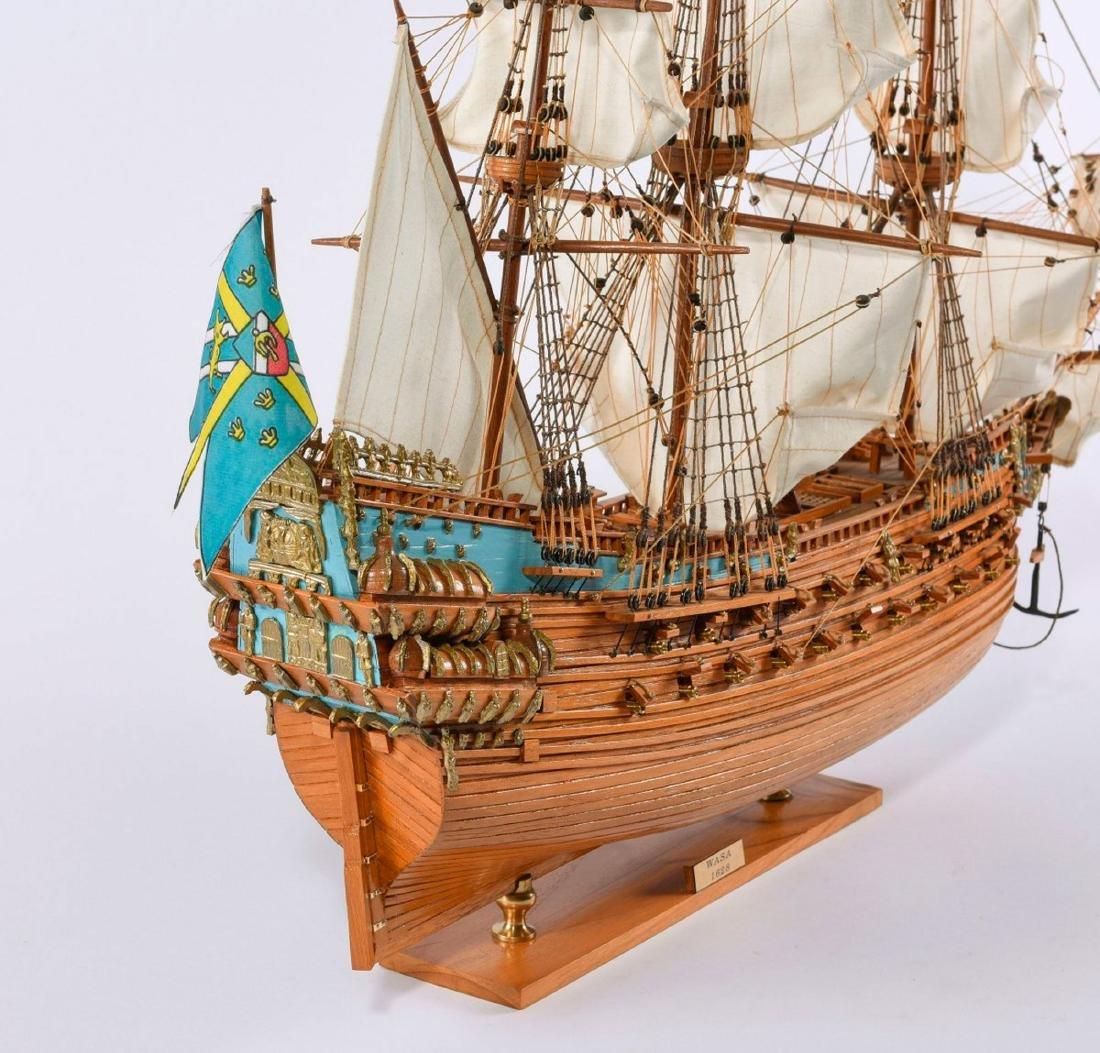Model three-masted galleon 'Wasa' - 4