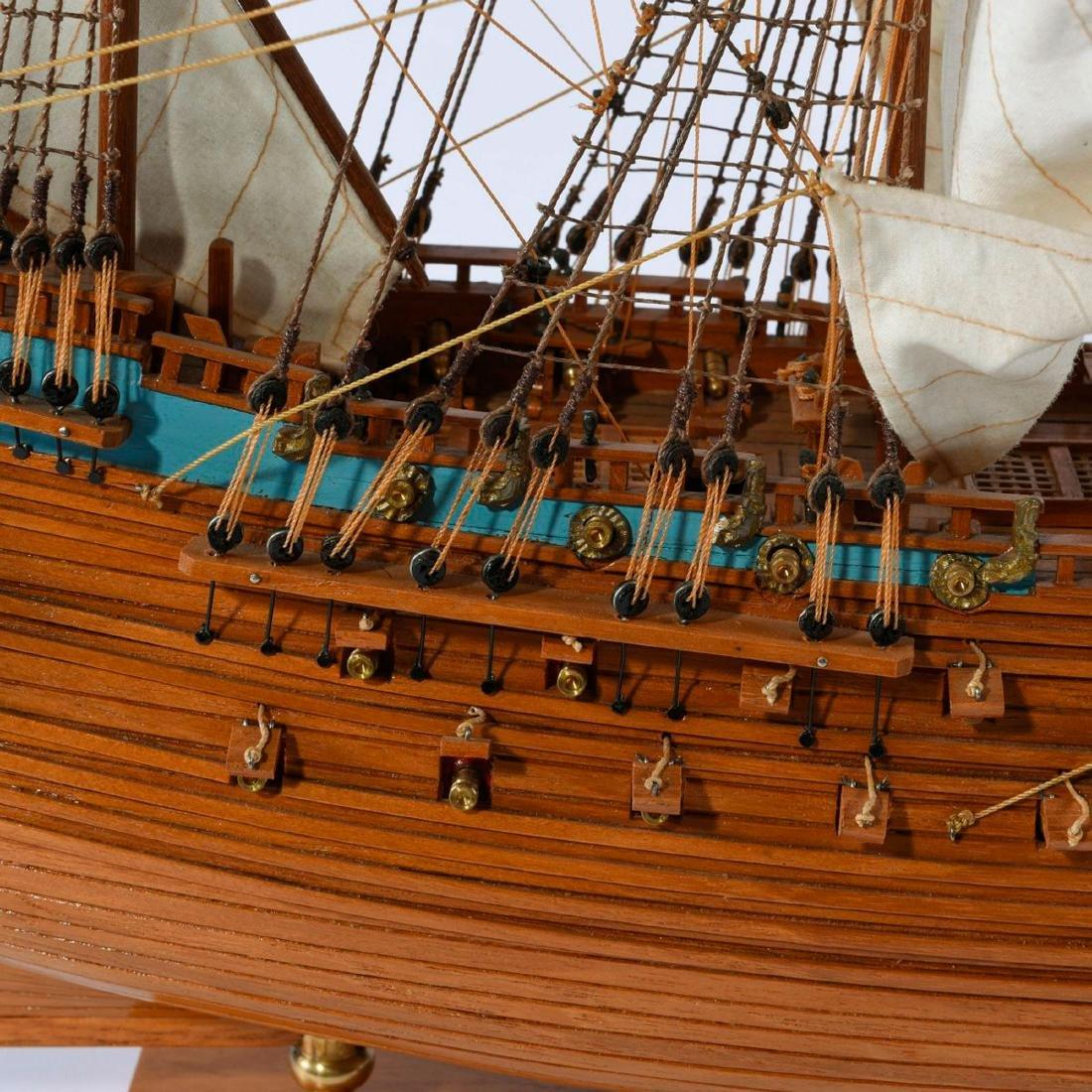 Model three-masted galleon 'Wasa' - 6