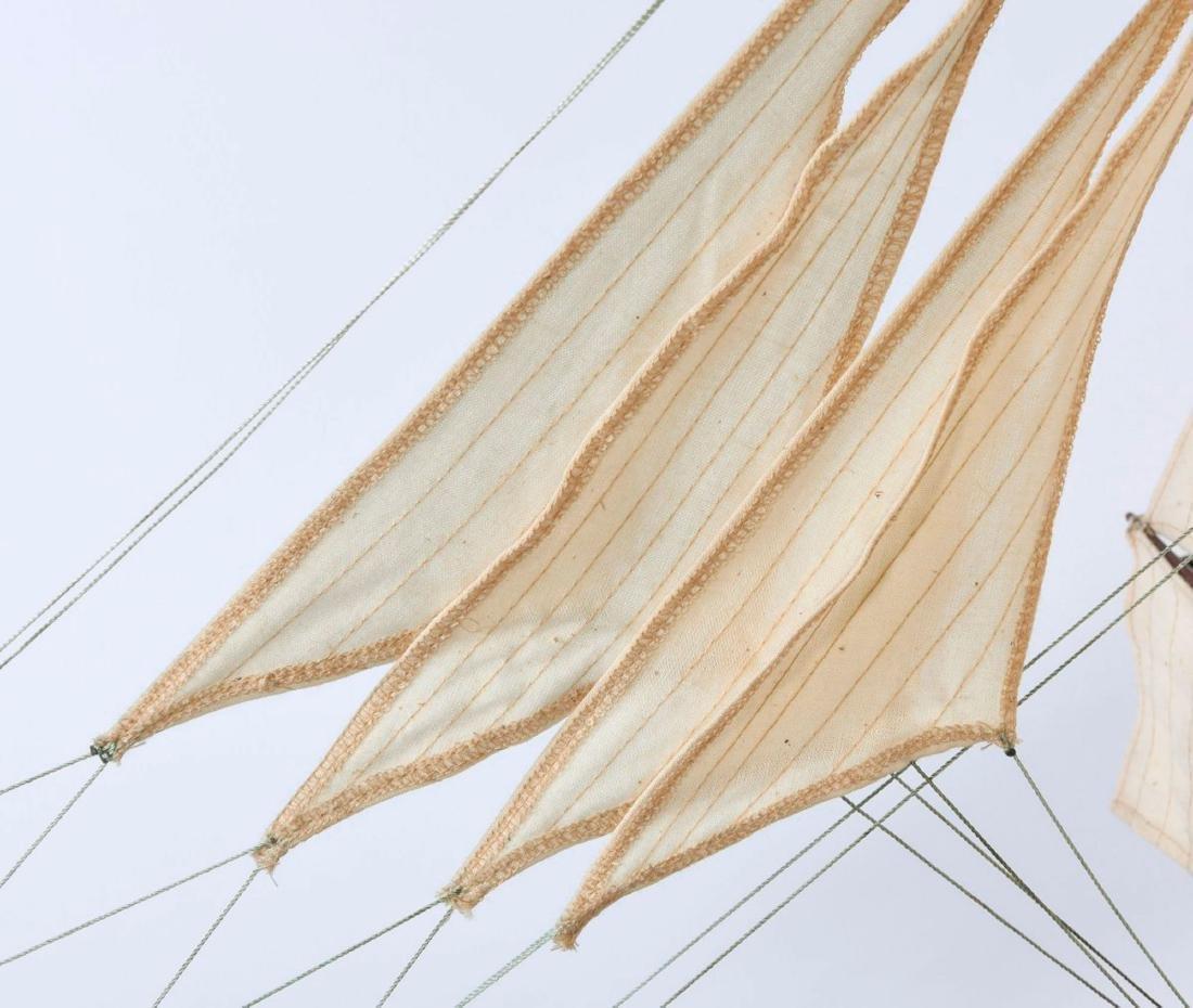 Model three-masted barque - 2