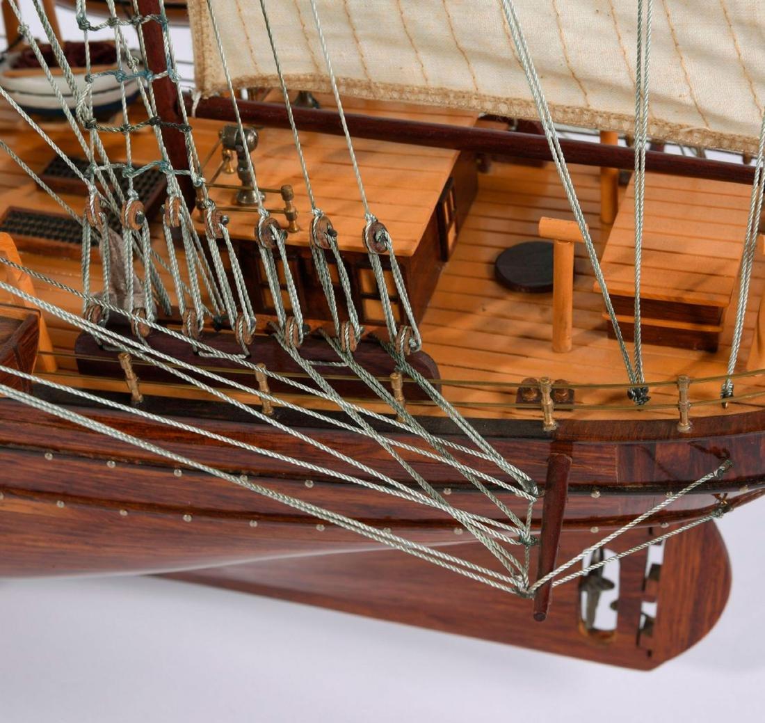 Model three-masted barque - 3