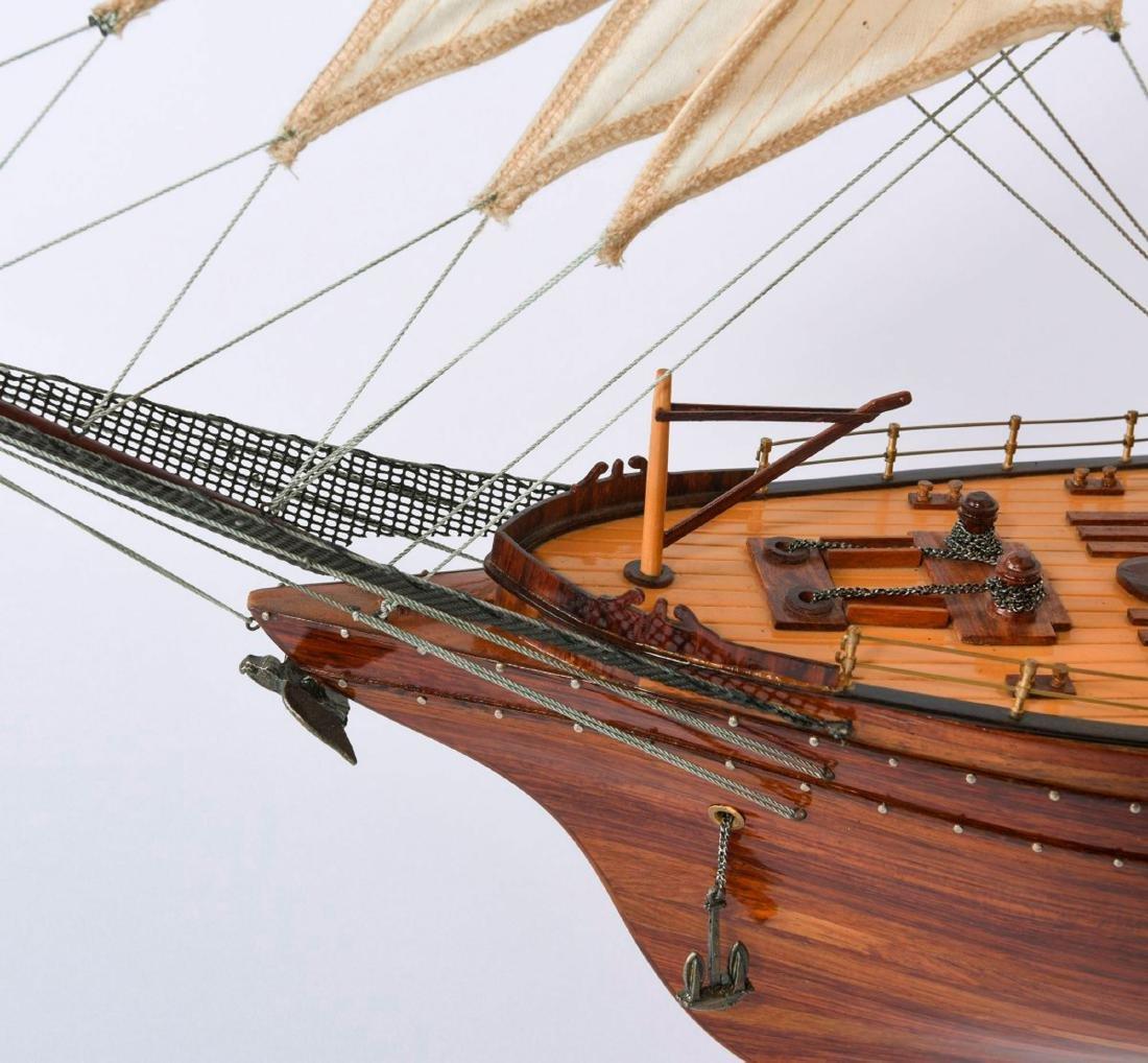 Model three-masted barque - 5