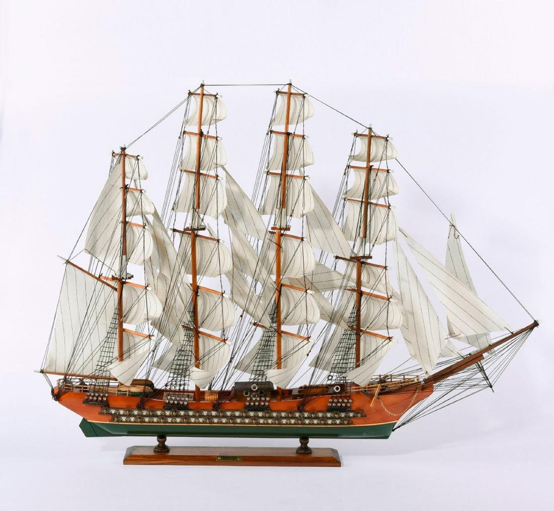 Model four-masted barque 'Fragata'