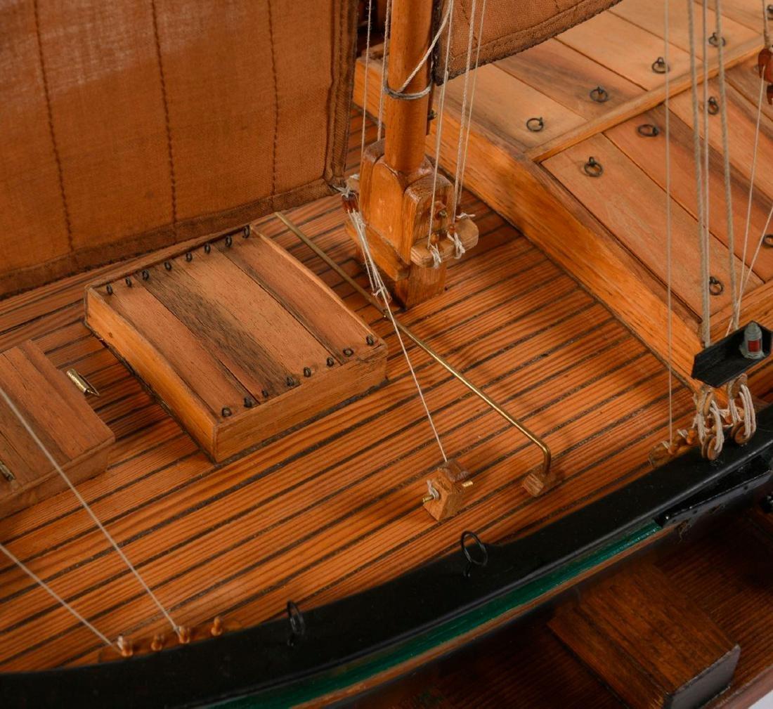 Model flat-bottomed boat 'Hermann' - 3