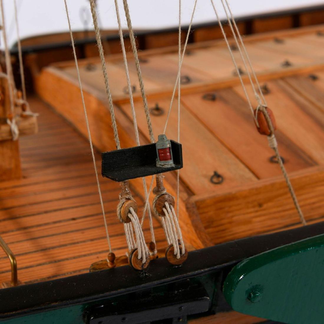 Model flat-bottomed boat 'Hermann' - 4