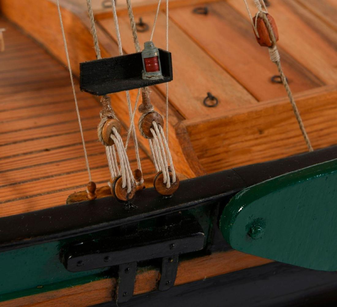 Model flat-bottomed boat 'Hermann' - 5