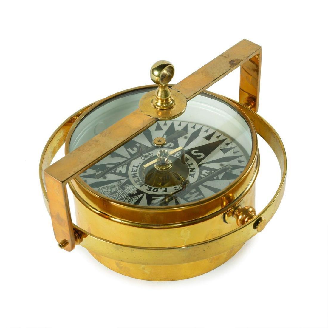 Gimballed compass