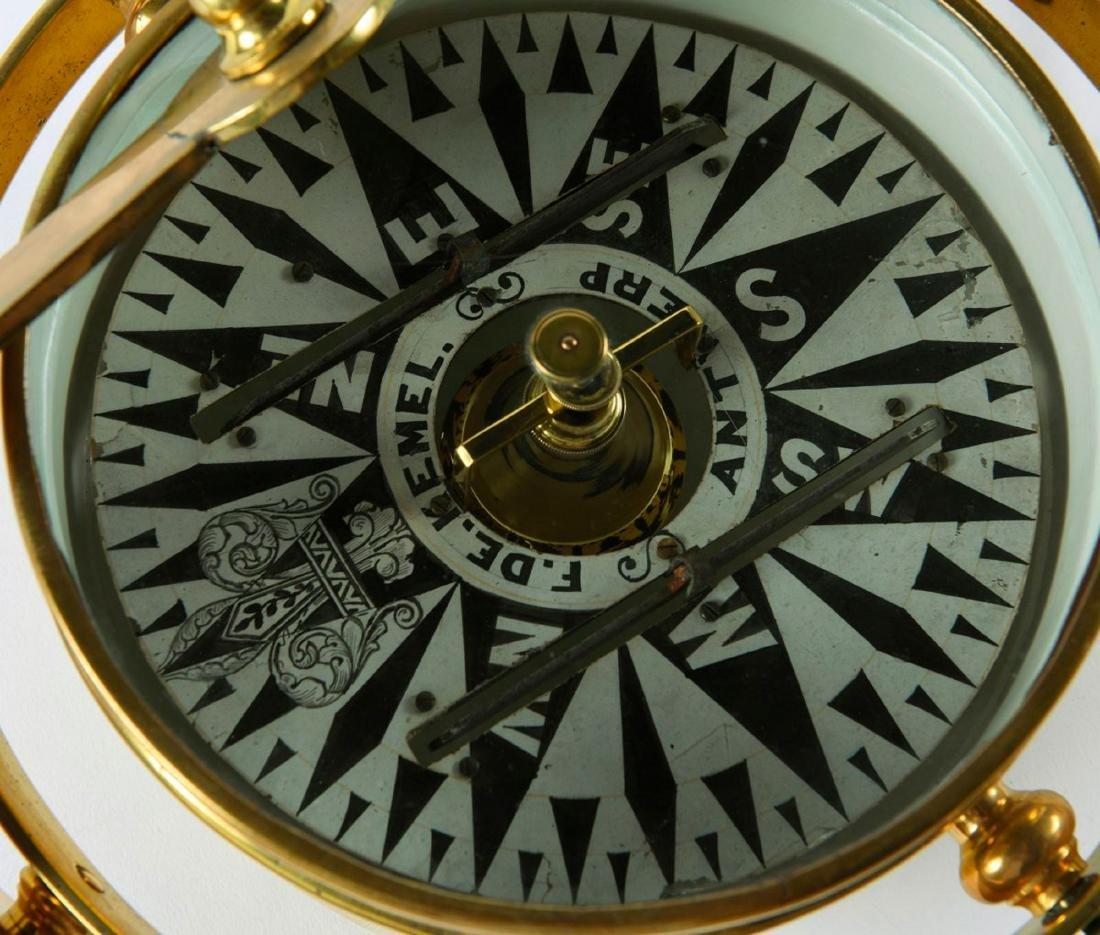 Gimballed compass - 3