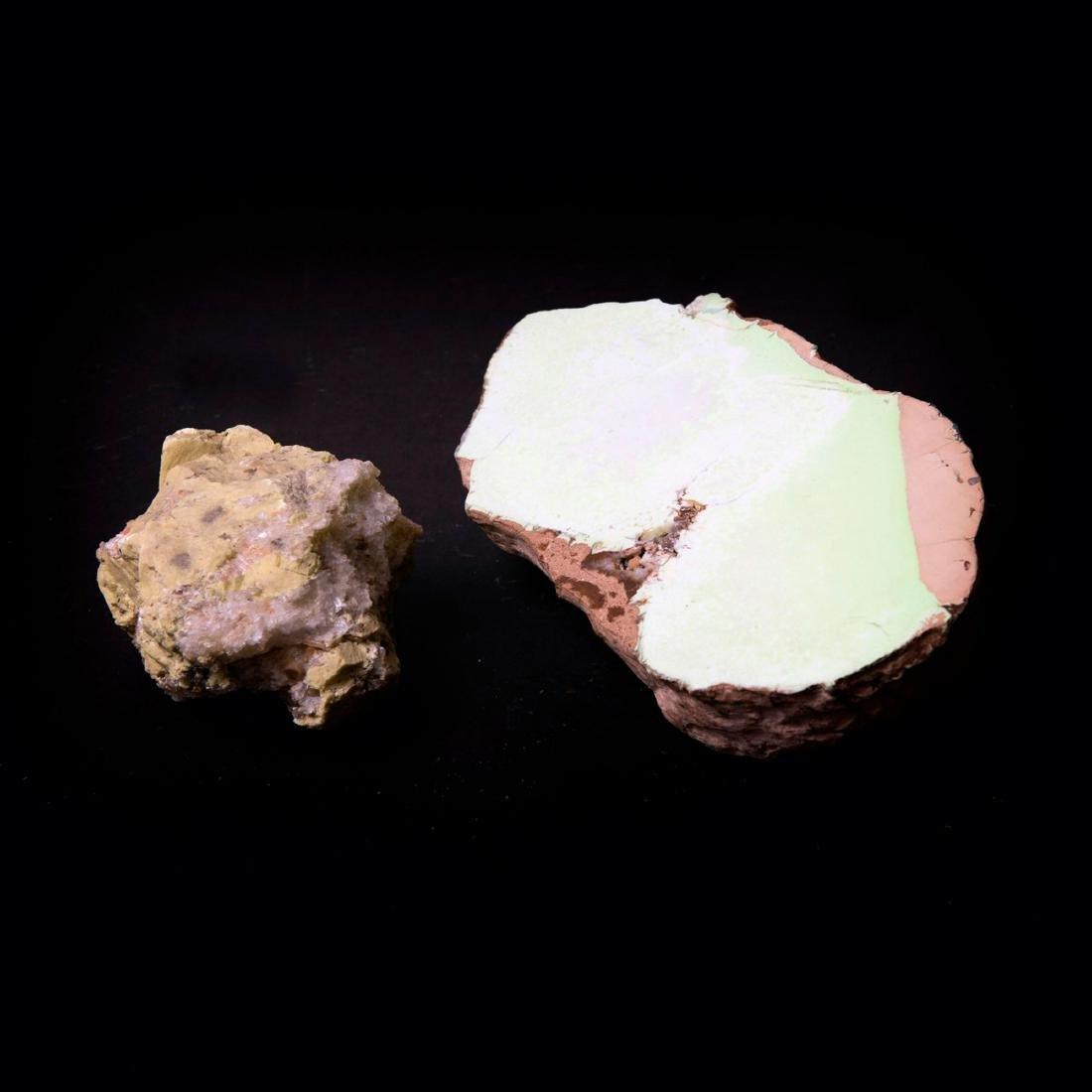 Mixed lot minerals (2 pieces)