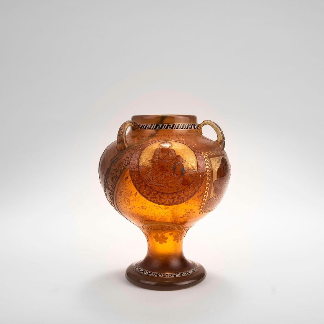 'Echoes of Hellas' vase with handles, 1895-1900 - 4