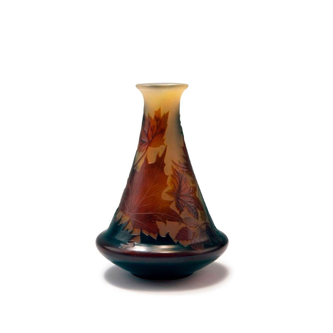 'Feuilles d'Erable' vase, 1914-20