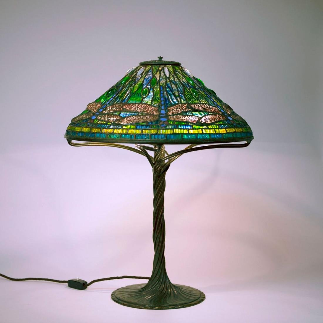 'Dragonfly' table light, 1899