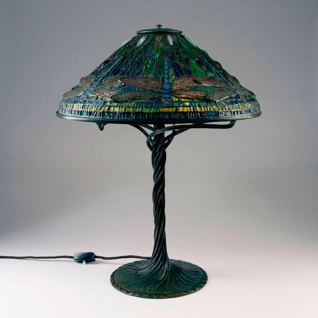 'Dragonfly' table light, 1899 - 2