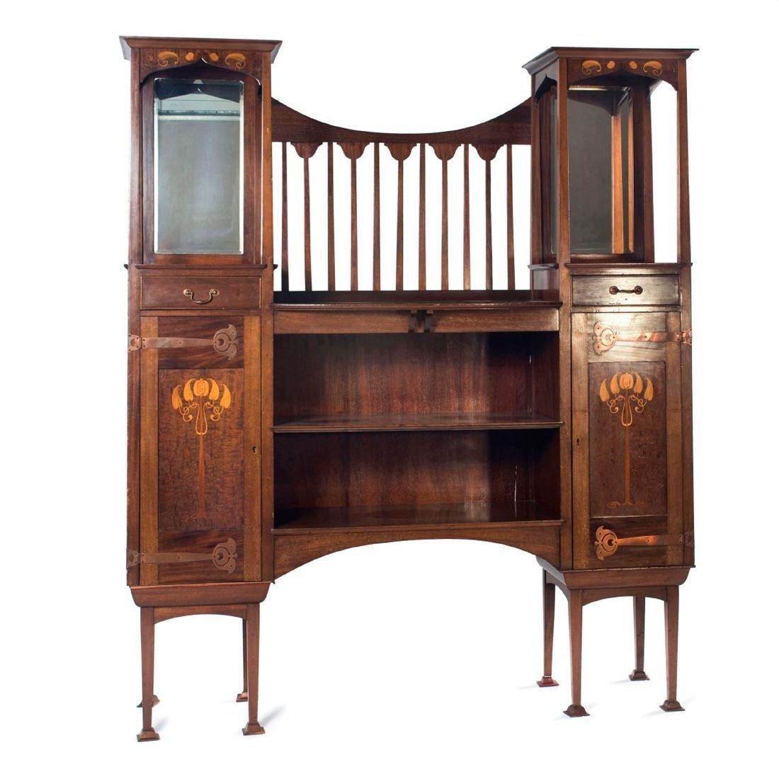 Display cabinet, c1905-10
