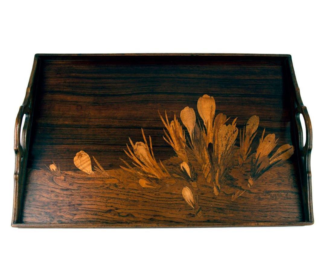'Crocus' tray, c. 1900