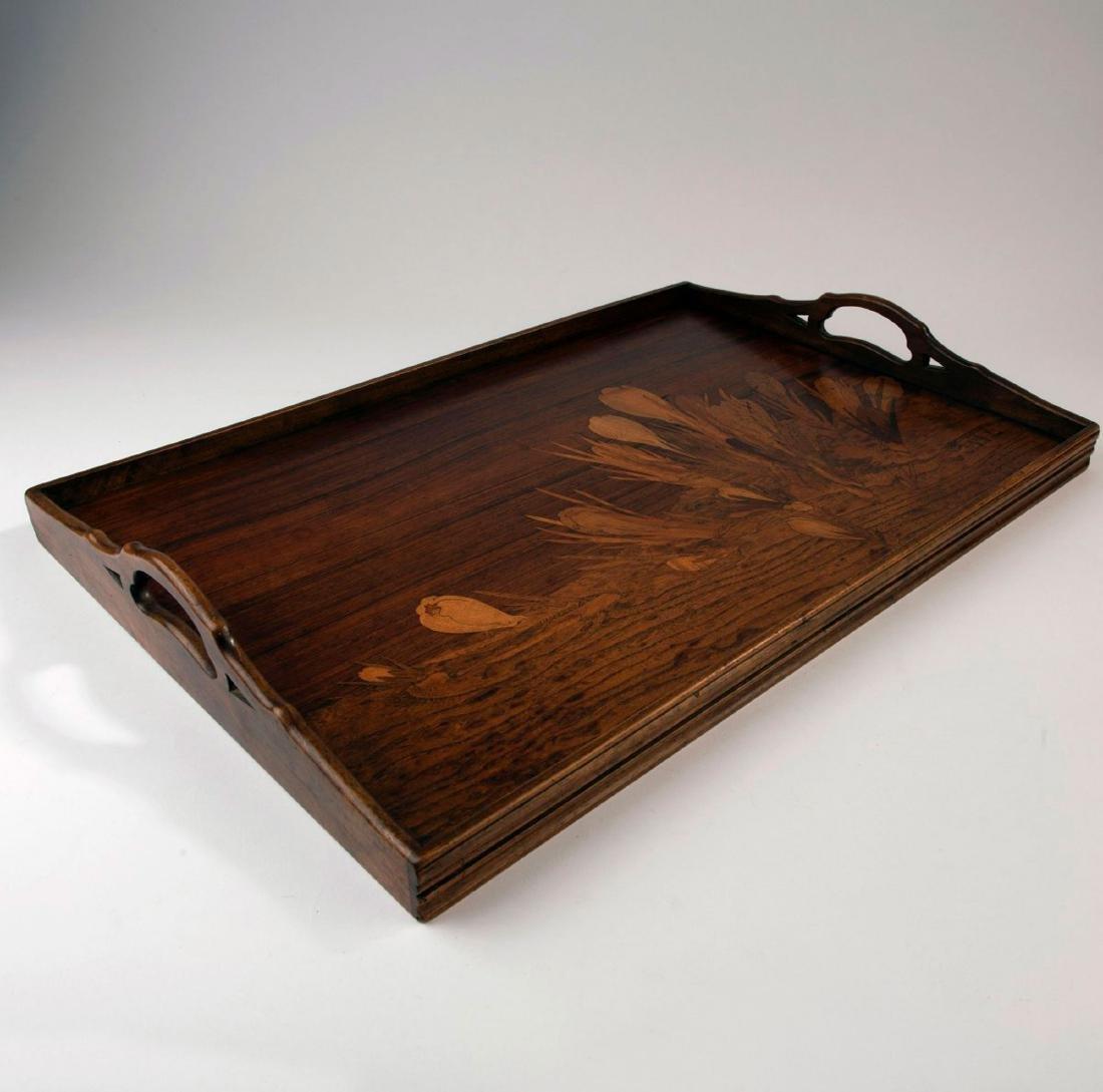 'Crocus' tray, c. 1900 - 3