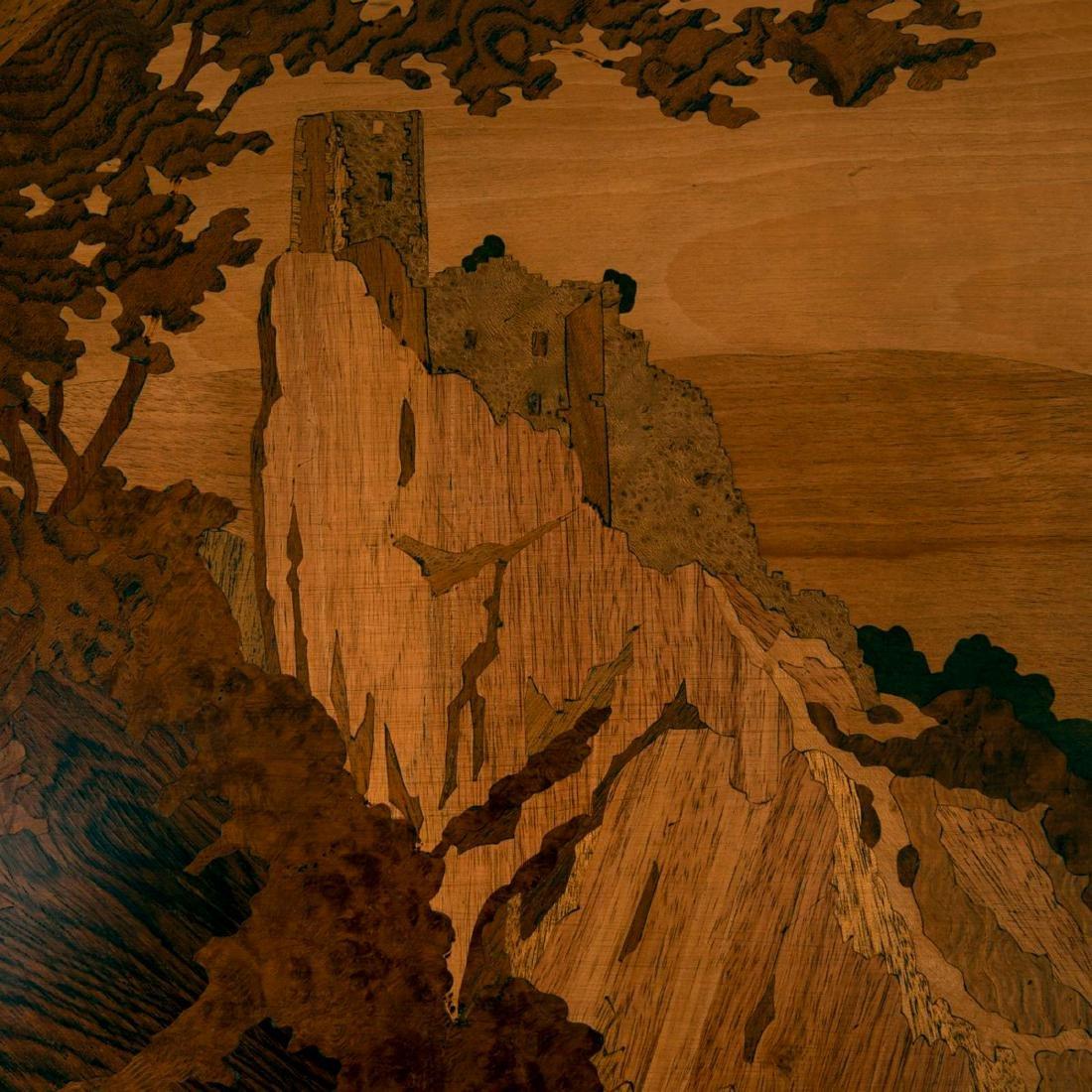 Tray 'Castle ruins', c. 1915 - 2