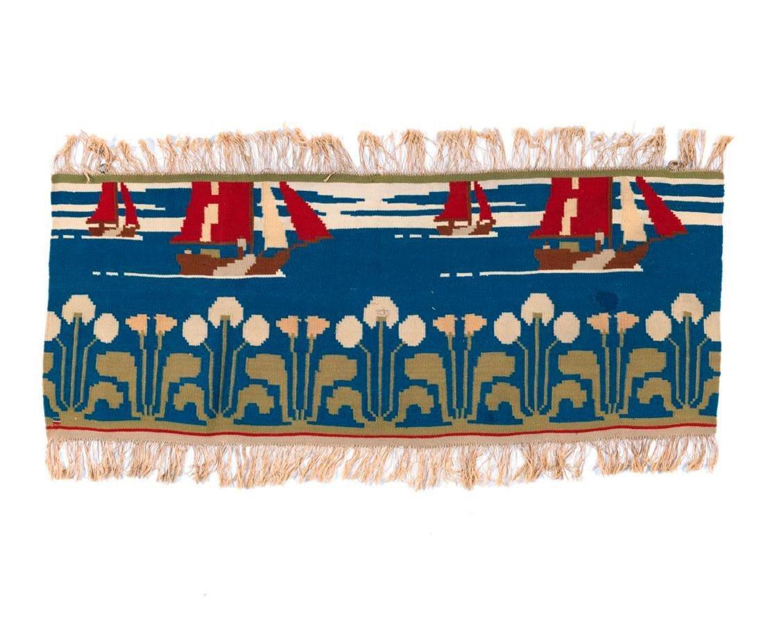 'Stille Fahrt' tapestry, 1896