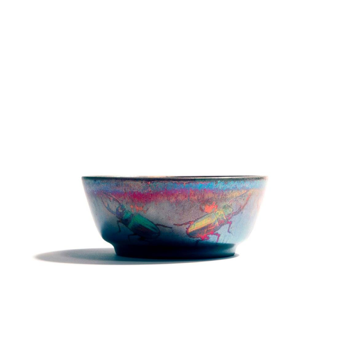 'Stag Beetle' bowl, c. 1900