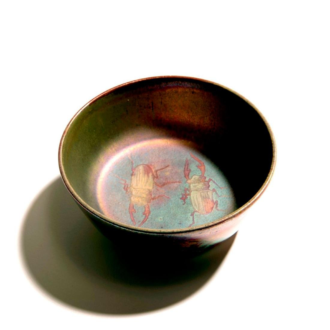 'Stag Beetle' bowl, c. 1900 - 2