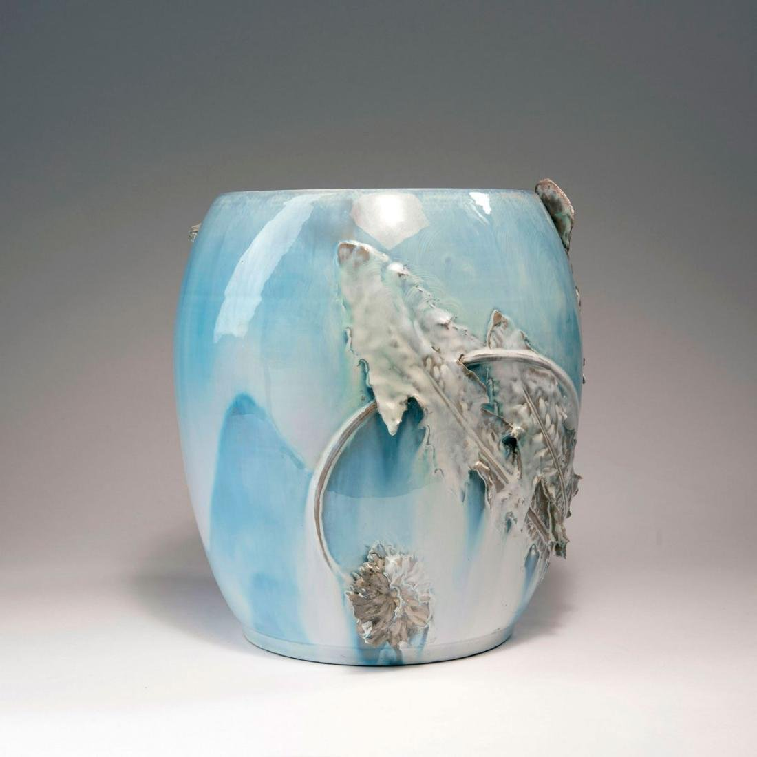 Cachepot with dandelion, 1900 - 3