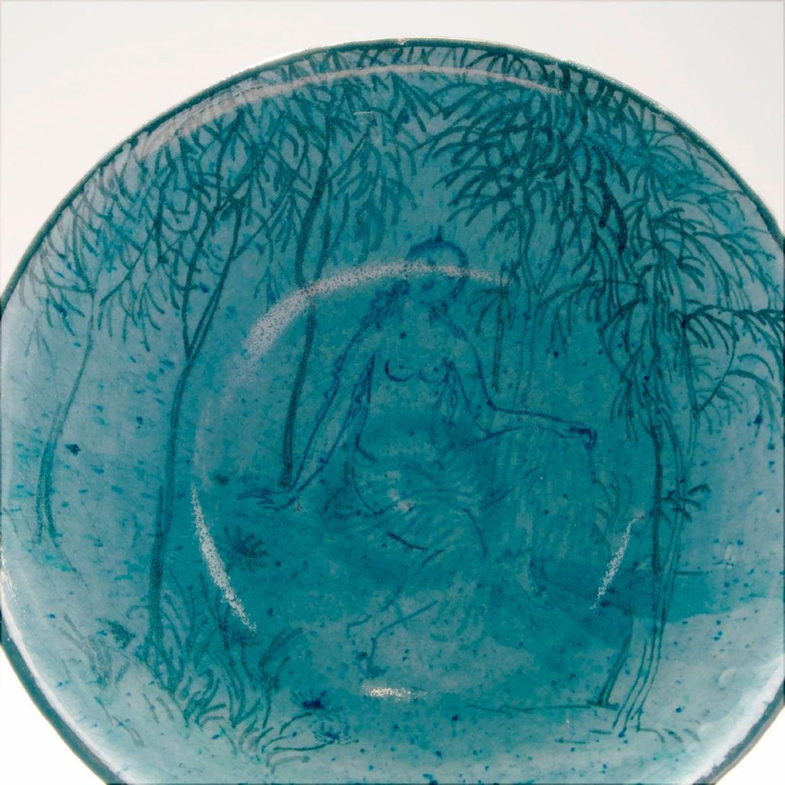 'Akt vor Ornament' bowl, 1919 - 2