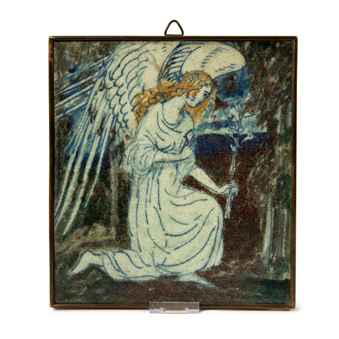 'Annunciation angel' tile, 1923