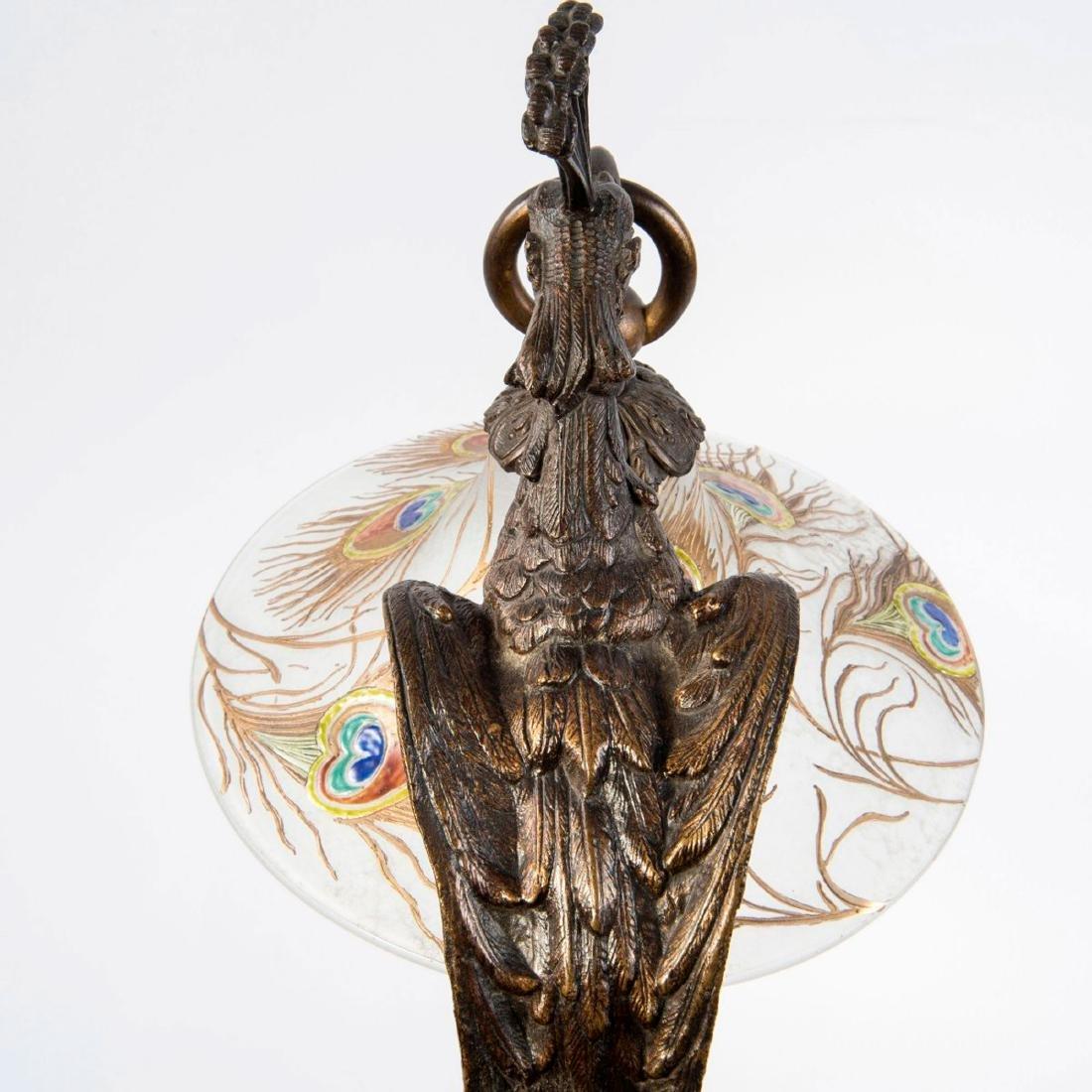 'Paon' table light, c. 1910 - 6