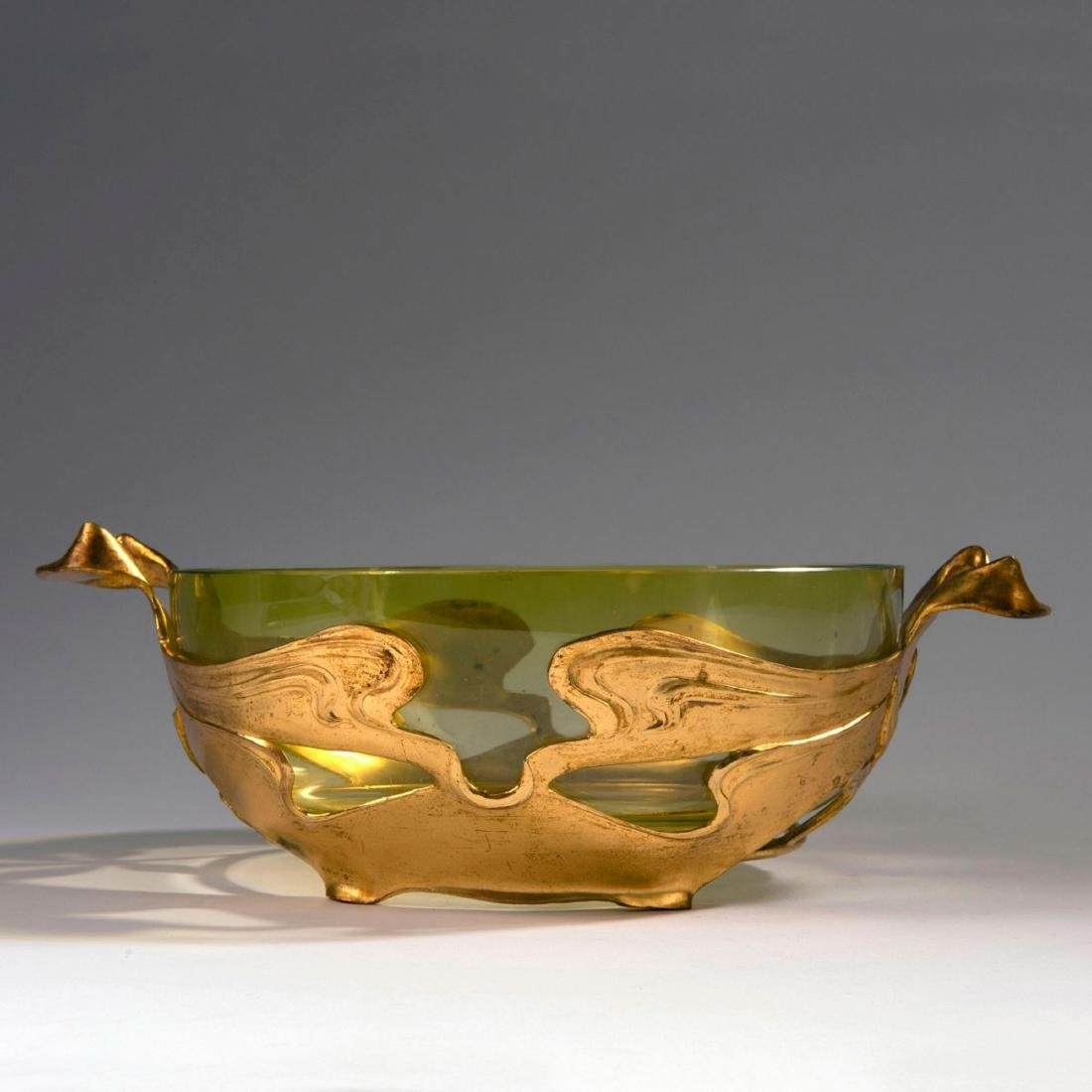 'Chestnut' bowl with two handles, c. 1900 - 2
