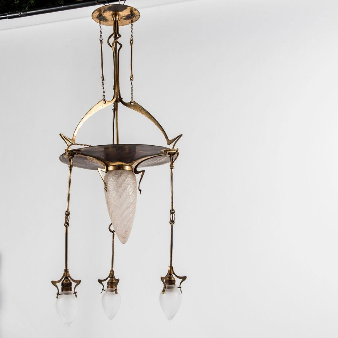 Ceiling light, c. 1910