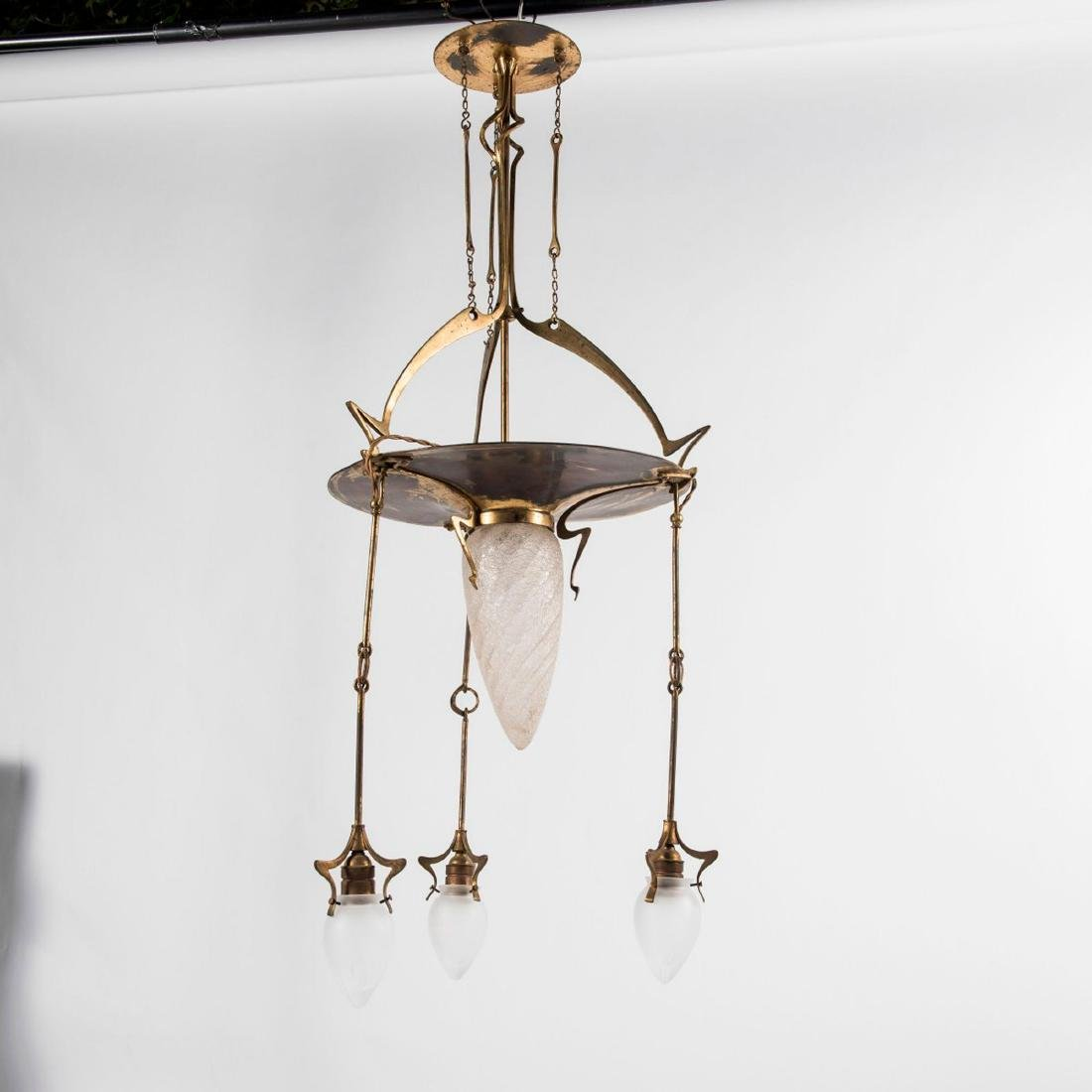 Ceiling light, c. 1910 - 3