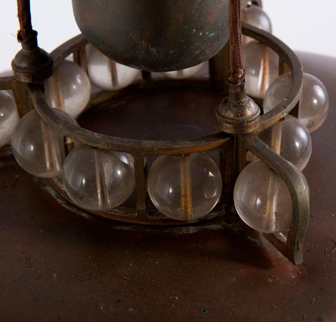 Extensible ceiling light, c. 1910 - 3