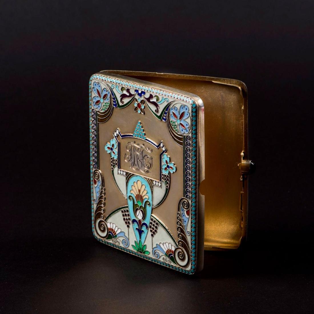 Cigarette case, c. 1917 - 4