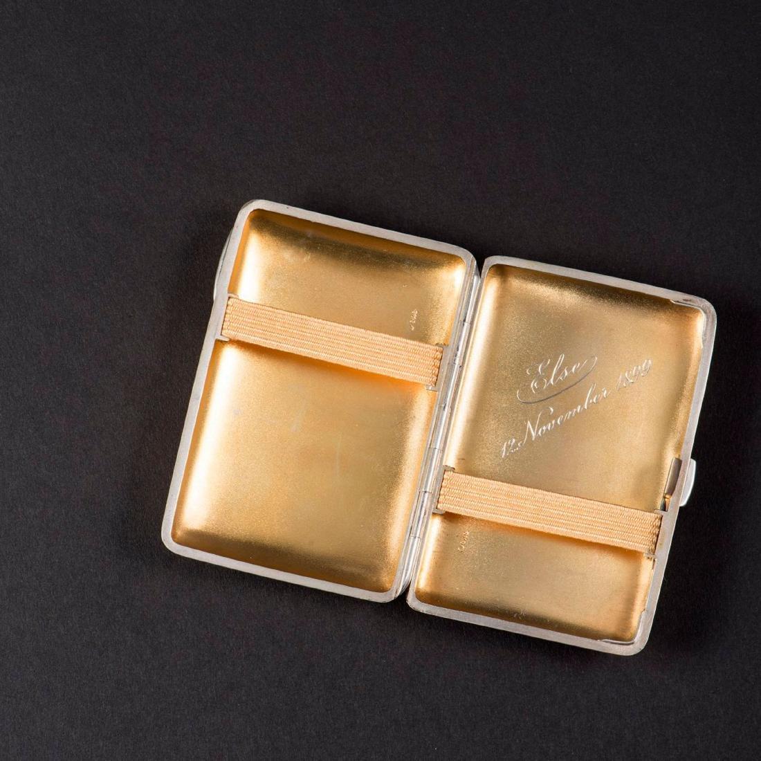'Clover' cigarette case, 1899 - 2