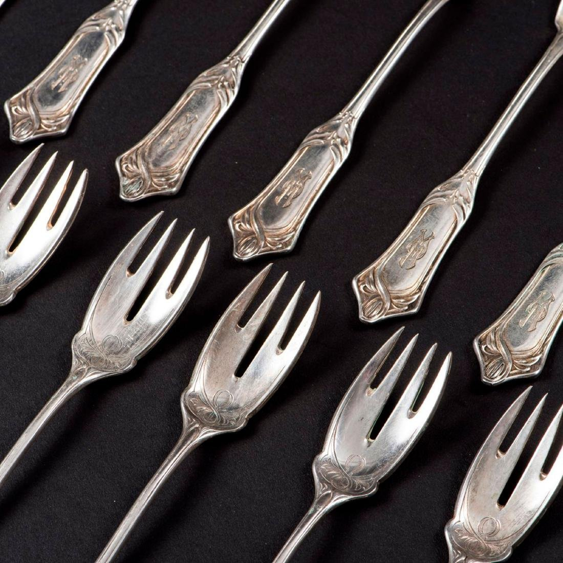 '2651' fish cutlery, 1900 - 2
