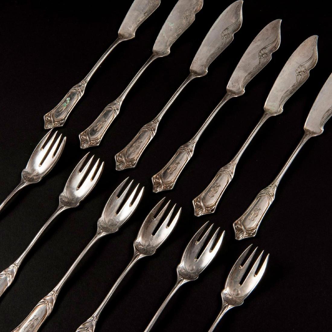 '2651' fish cutlery, 1900 - 3