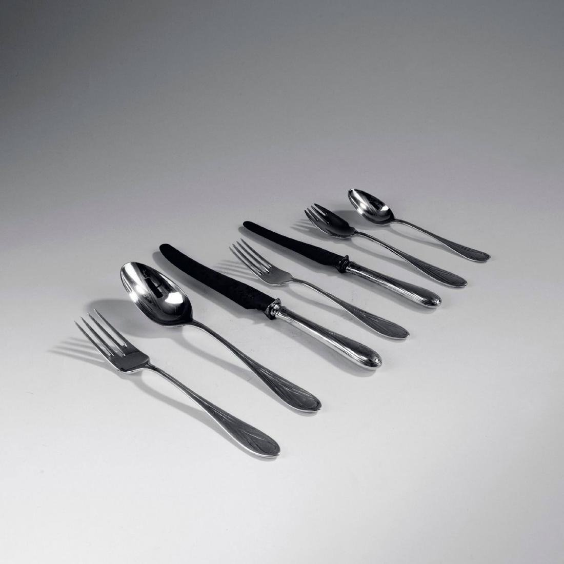 '3001' cutlery in original wooden box, 1901/02 - 2