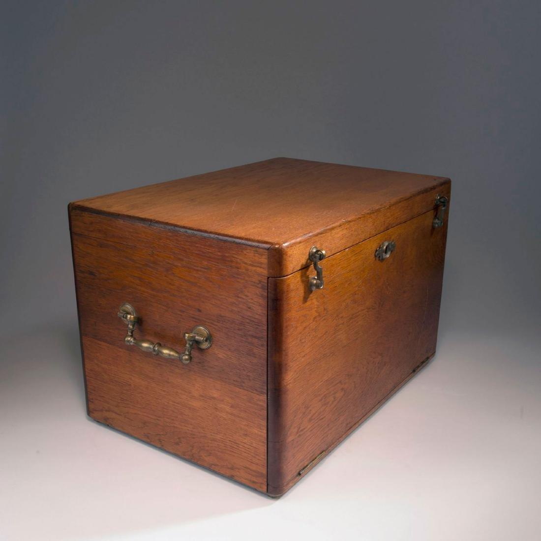 '3001' cutlery in original wooden box, 1901/02 - 7