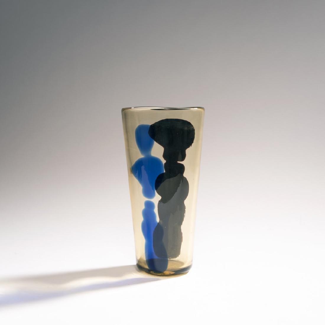 Fulvio Bianconi, 'A macchie' vase, c. 1950