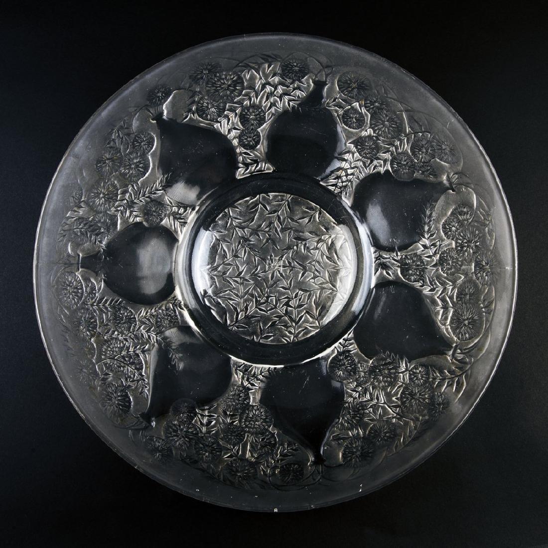 Rene Lalique, 'Vases no.1' plate, 1921