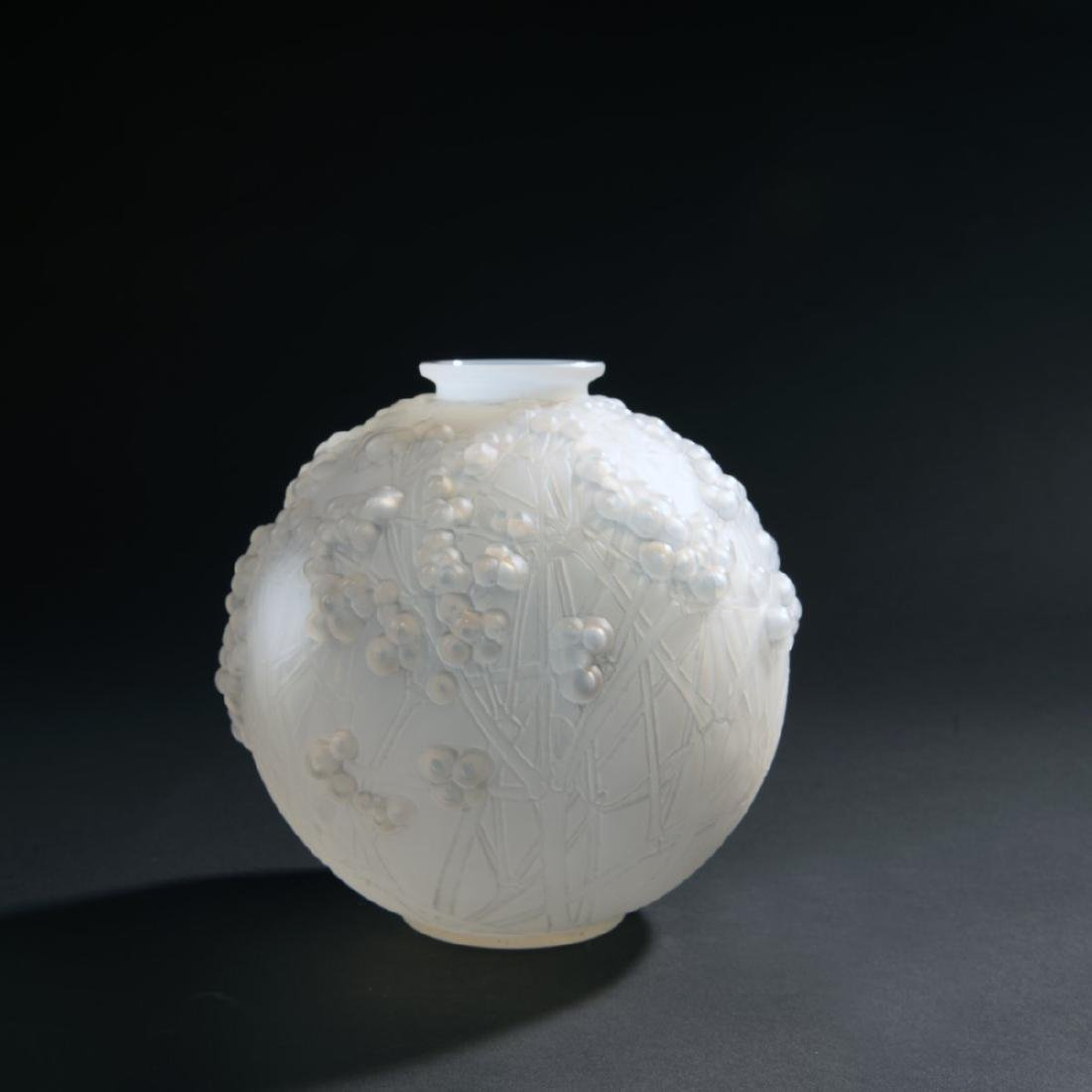 Rene Lalique, 'Druide' vase, 1924