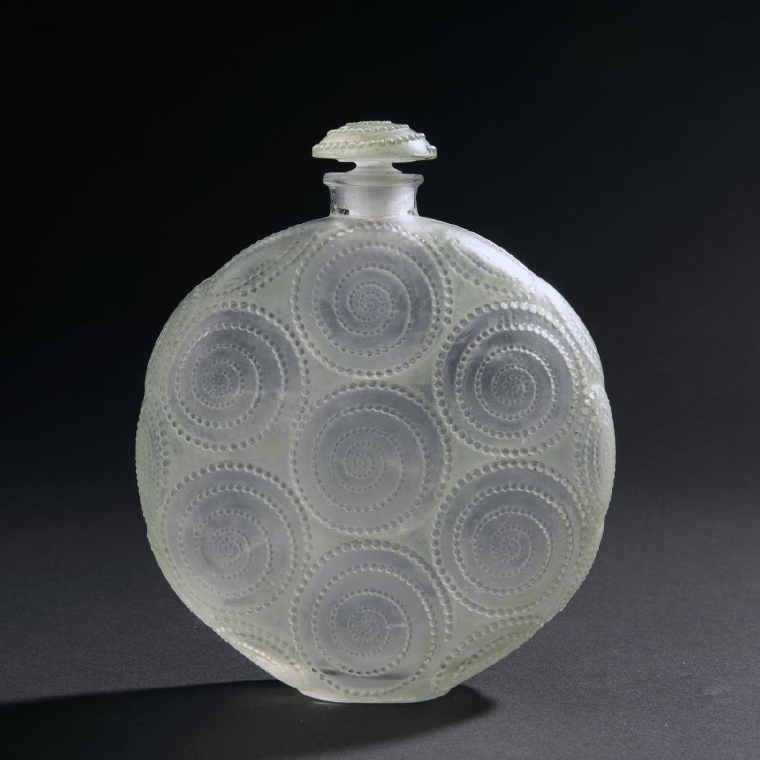 Rene Lalique, 'Relief' flacon for Forvil, 1924