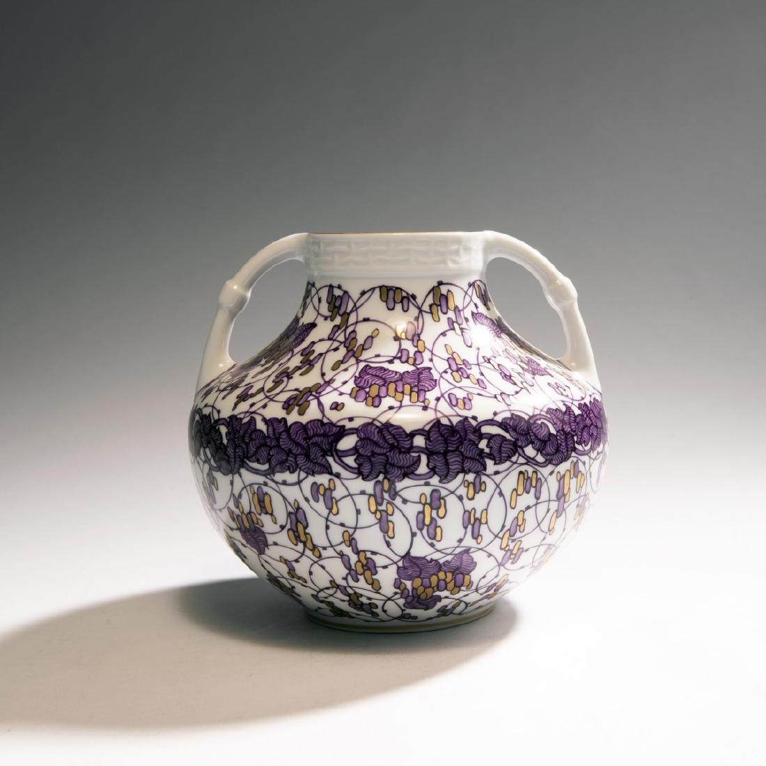 Adelbert Niemeyer, '874' vase, 1907