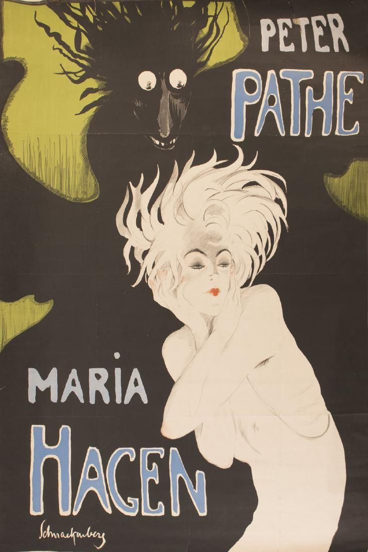 Walter Schnackenberg, Poster, 1918