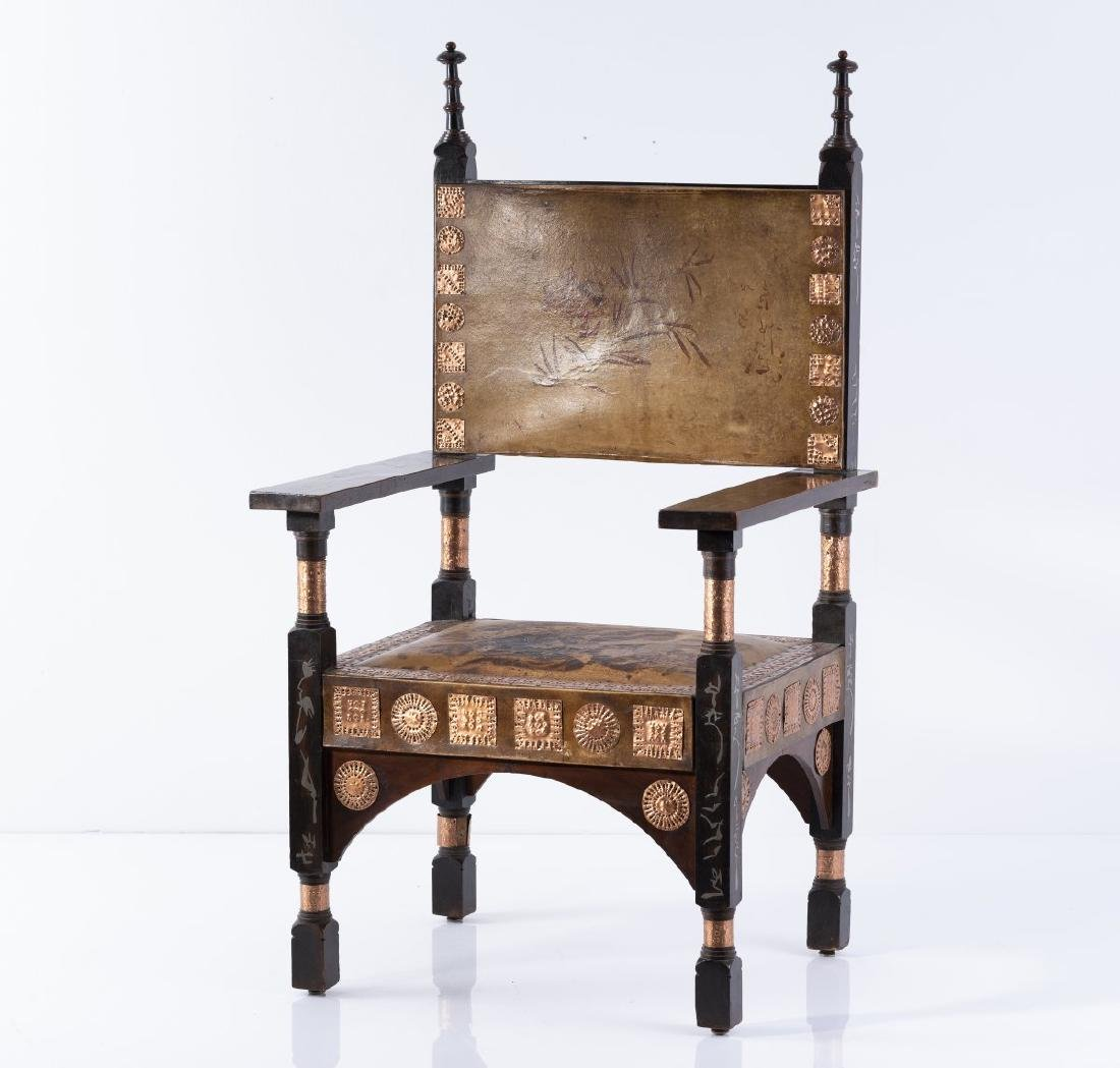 Carlo Bugatti, Chair, around 1895