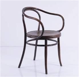J. & J. Kohn, Vienna, '712','Corbusier' armchair