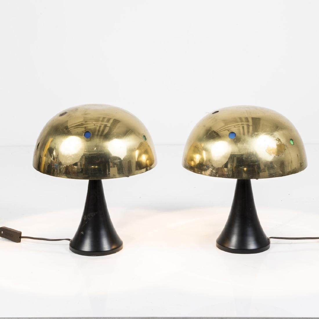 Austria, Two table lights, 1950s