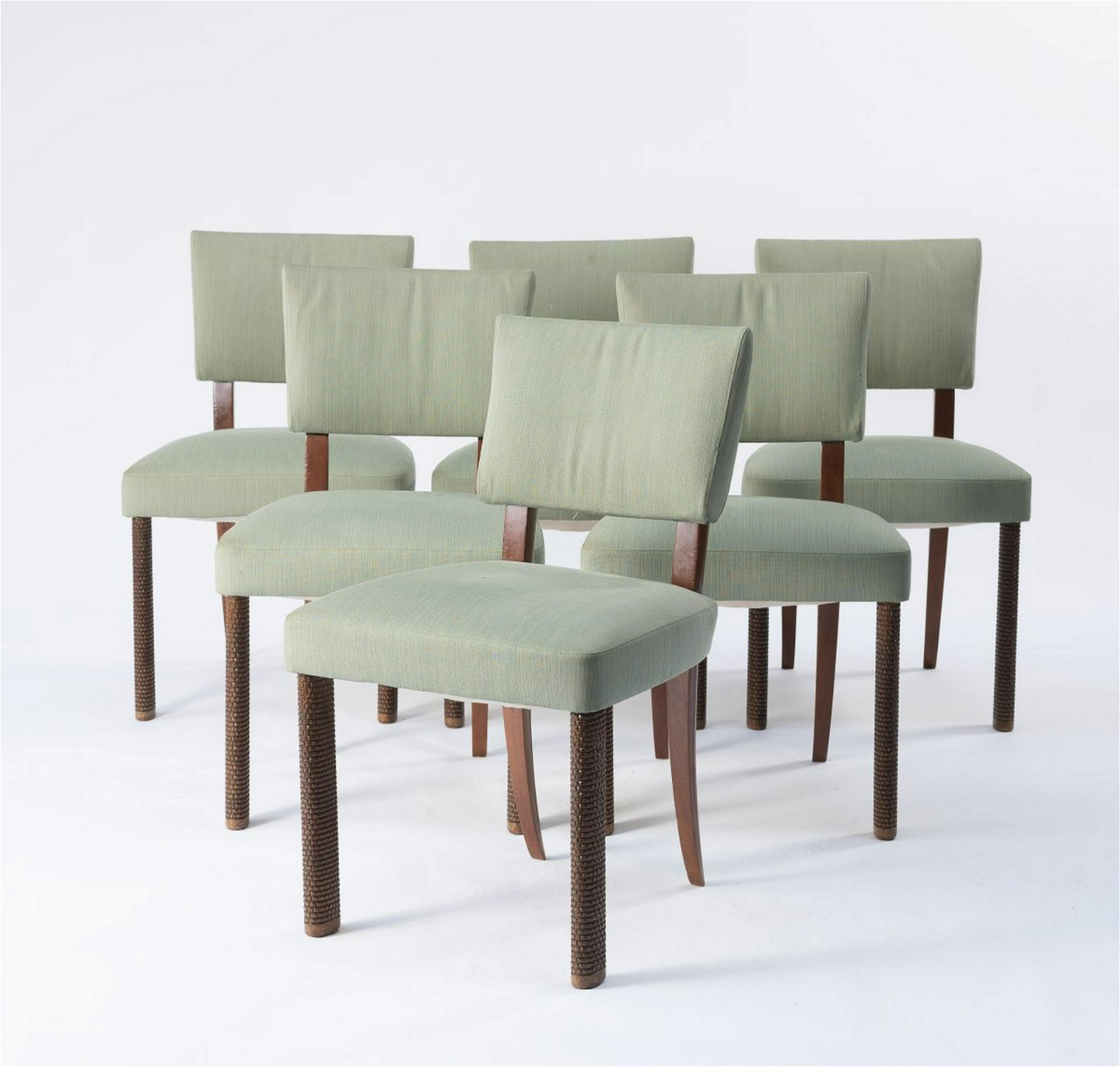 Osvaldo Borsani, Six chairs, c. 1937